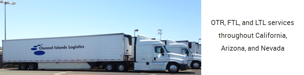 OTR, FTL, and LTL services throughout California, Arizona, and Nevada
